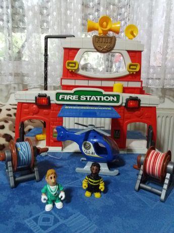 Vand set jucarii statie de pompieri