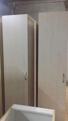 АКЦИЯ! Шкаф однодверный (полочки, либо штанга для платья) Астана