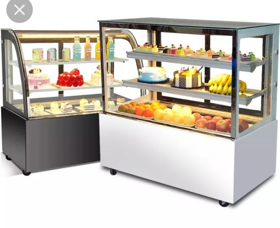 Кондитерский витринный холодильник.