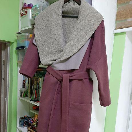 Пальто  розовое и пальто Mango suit