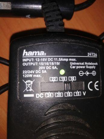 Încărcător auto universal laptop Hama stare perfecta