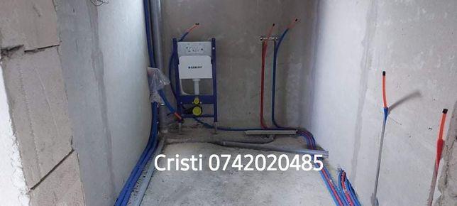 Instalator intervenții, urgențe sanitare/termice non-stop