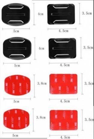 4бр. основи + 4бр. 3M лепенки за GoPro