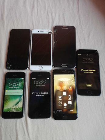 Iphone 5,5s,6s,7 samsung s6