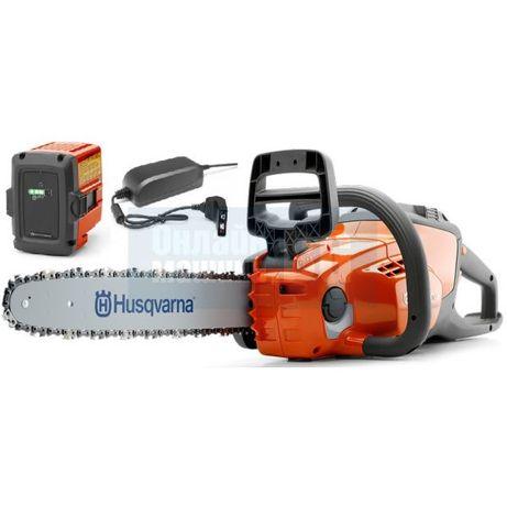 Акумулаторна резачка Husqvarna 120i + батерия + зарядно