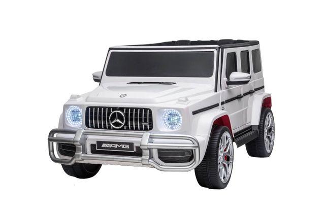 Masinuta electrica pt copii 24 Volti Mercedes AMG G63 NOU 4×4 s307 alb