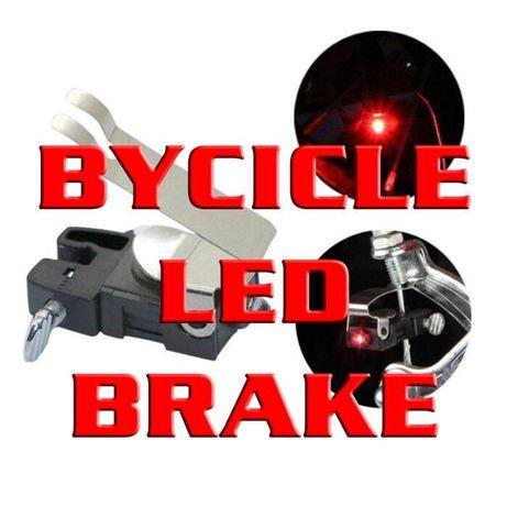 Stop pe frâna pentru biciclete