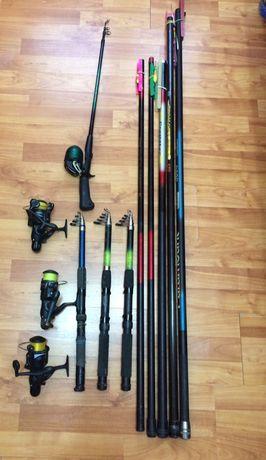 Lansete ,undite si diverse de pescuit