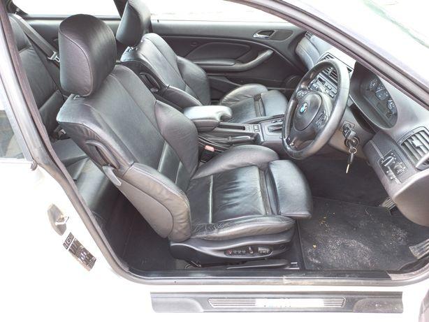 Interior recaro piele neagra eletric bmw e46 coupe