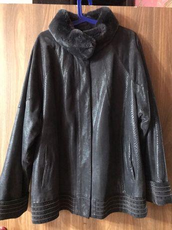 Женская замшевая куртка