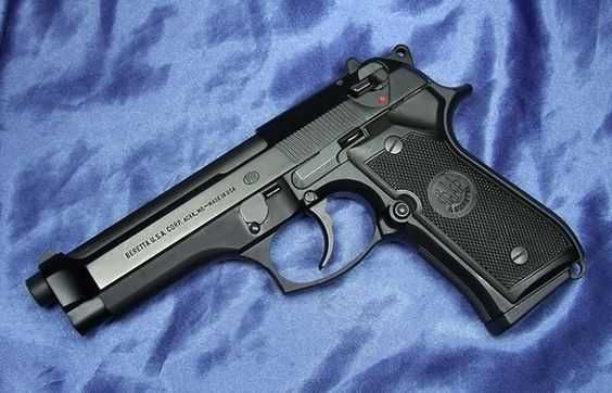 #Pistol Airsoft Beretta/Manson Culisabil# 4,7jouli+Test AER COMPRIMAT