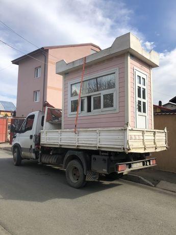 Transport marfa cu macara 2 t/ Inchiriere macara