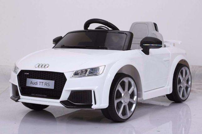 Masinuta electrica Audi TT pentru copii dotat cu telecomanda 12Volti