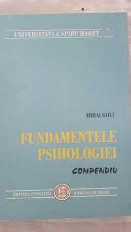 M.Golu Fundamentele Psihologiei Compendiu - 40lei