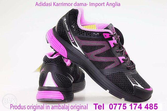 Adidasi dama Karrimor-Pret magazin Anglia 79,99 Lire,Nr 40,41,ieftin