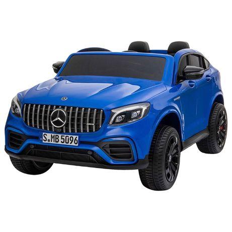 Masinuta electrica cu telecomanda pentru copii, Mercedes Benz GLC63S,4