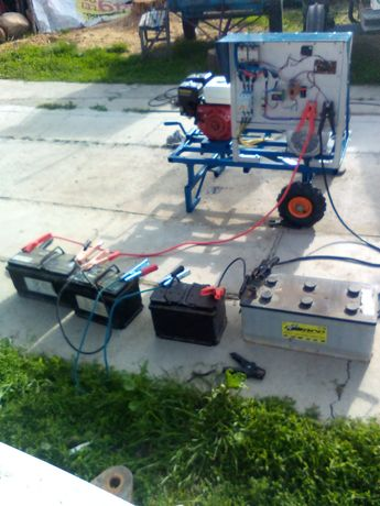 Generator tampon sisteme mixte ,solar,eolian Sistem 24- 48V-20 kwh