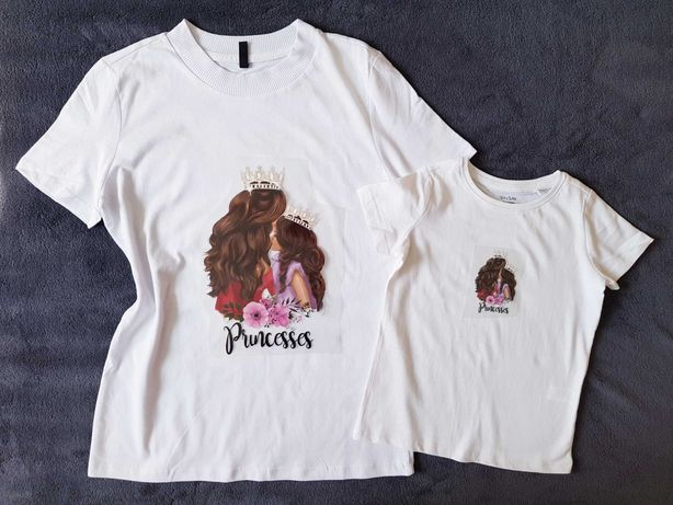 Set tricouri mama fiica (fata)
