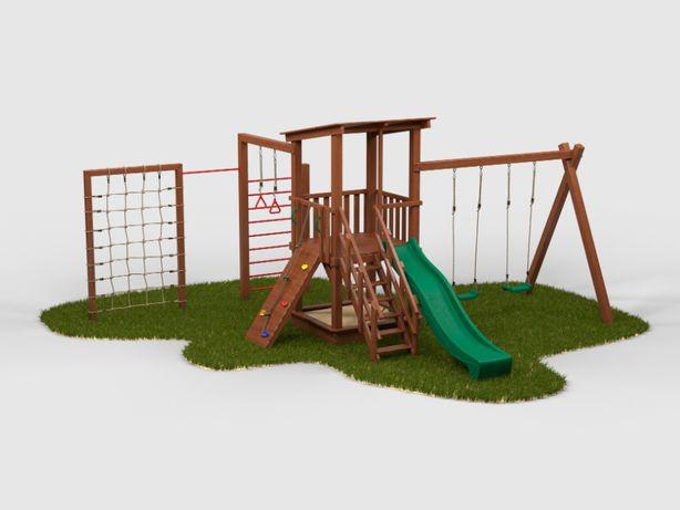 Детский игровой комплекс/Детская игровая площадка/Юви-4 + скалодром