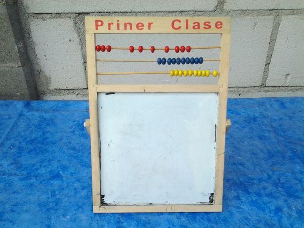 Tabla copii cu 2 fete magnetica pentru scris 43 cm