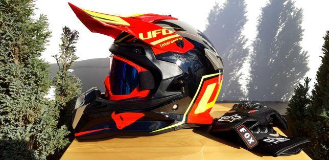Casca moto enduro downhill atv quad snowmobil buggy full face mx mtb