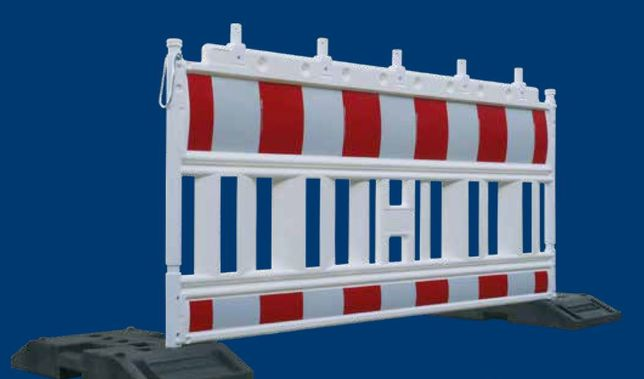 Garduri delimitare lucrari, bariere pvc semnalizare santier