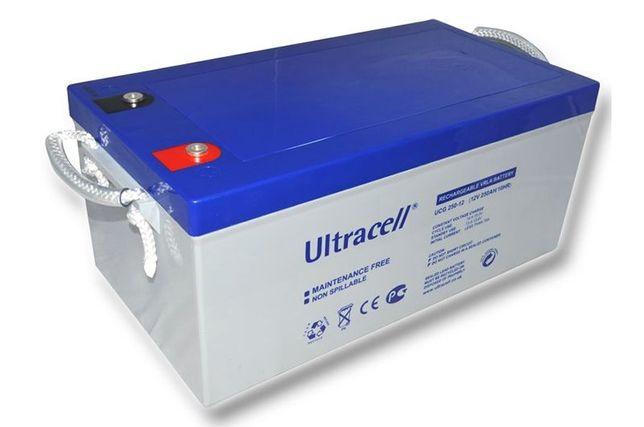 Acumulator cu gel 250Ah 12V Ultracell UCG 250-12, garantie
