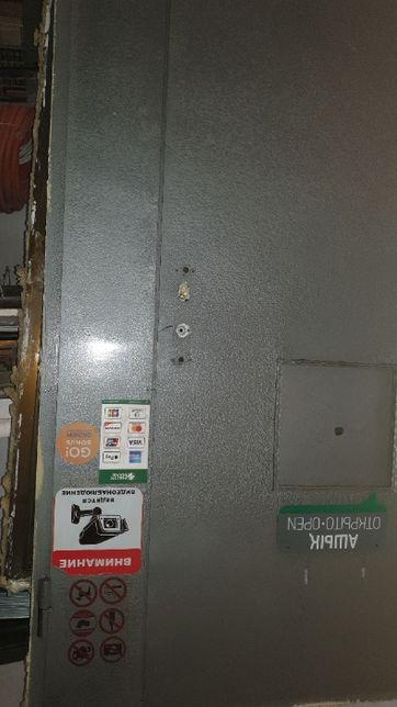 Дверь 125*210 металлическая бронированная