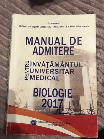 OFERTA! 7 Manuale admitere/ Grile medicina UMFCD București