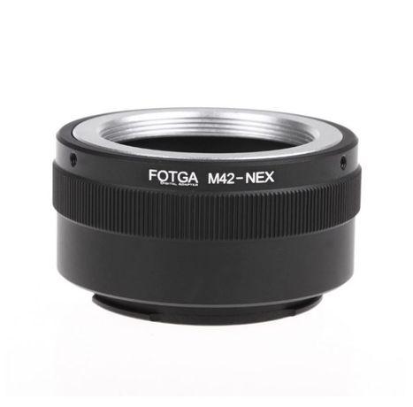 Преходник FOTGA за SONY e-mount / NEX / СОНИ - М42, M39, FD, LM