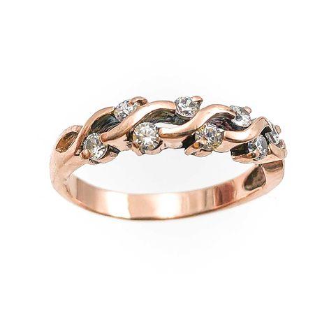 АКЦИЯ! Золотое кольцо, красное 585 «Ломбард Верный» А5831
