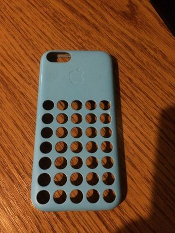 Husa iPhone 5C Blue ORIGINALA