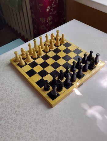 Шахматы деревянные - Ссср.