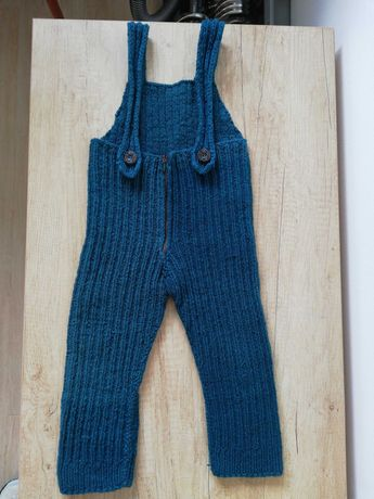Vand pantaloni tricotati manual 100%lana