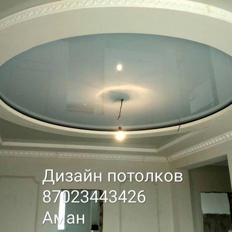 Дизайн потолков и стен из гипсокартона