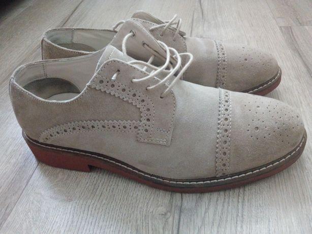 Pantofi piele intoarsa marime 43