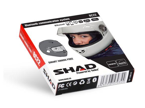 Bluetooth слушалки за каска SHAD BC22