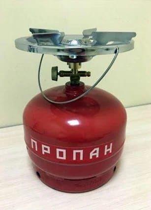 Газовая плита. Дачник переносная Россия