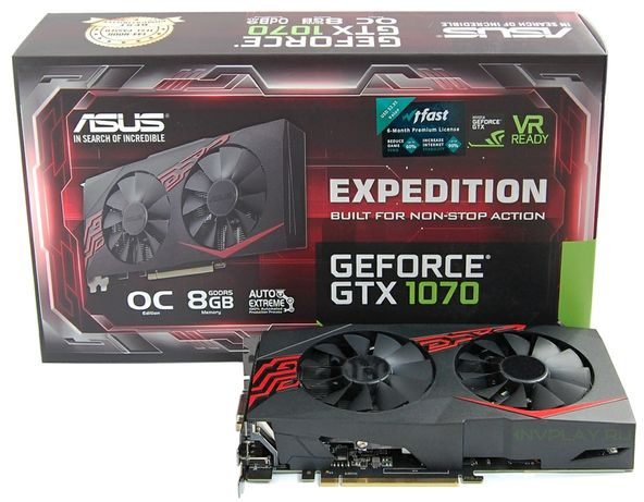 Asus expedition 1070 8gb
