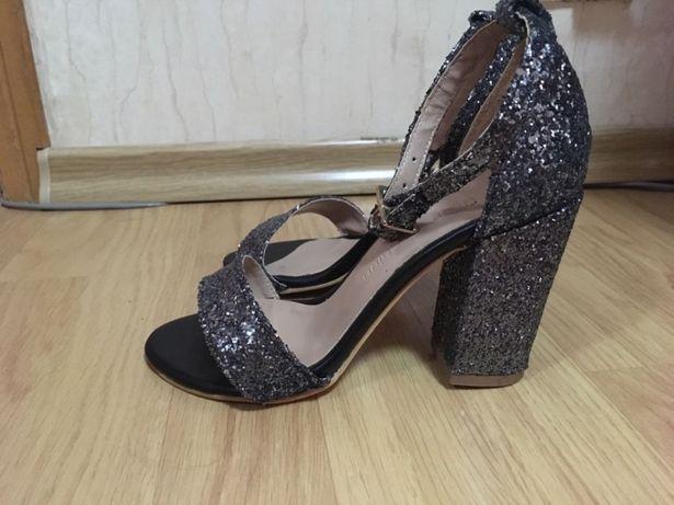 Sandale dama Glamour Dark  Grey