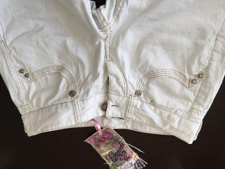 Бели летни дънки/панталон Gaudi.Размер IT 40