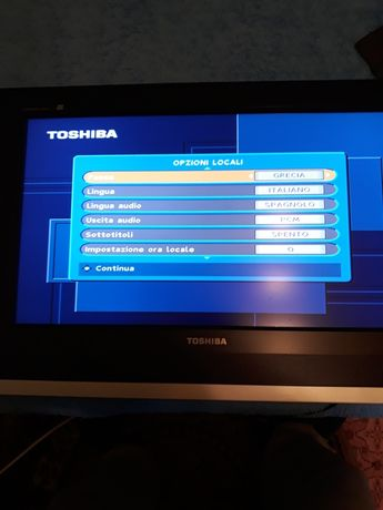 TV toshiba color