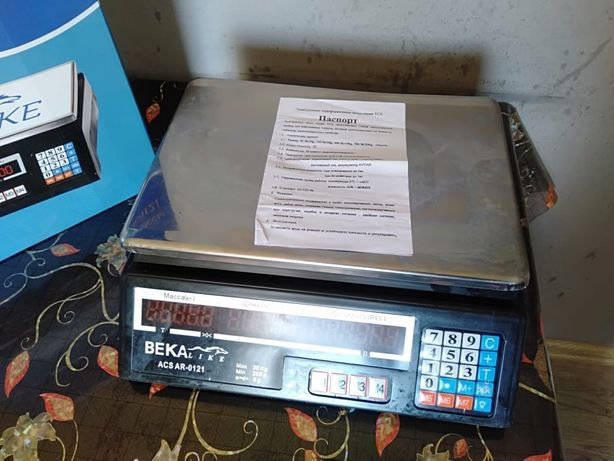Весы настольные до 25 кг