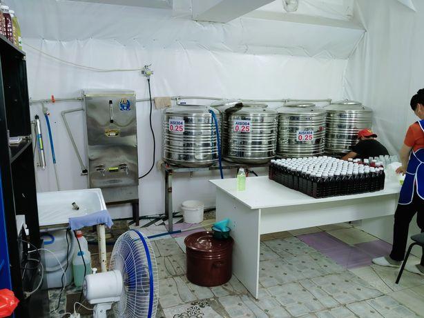 Цех производство ЭКО напитков