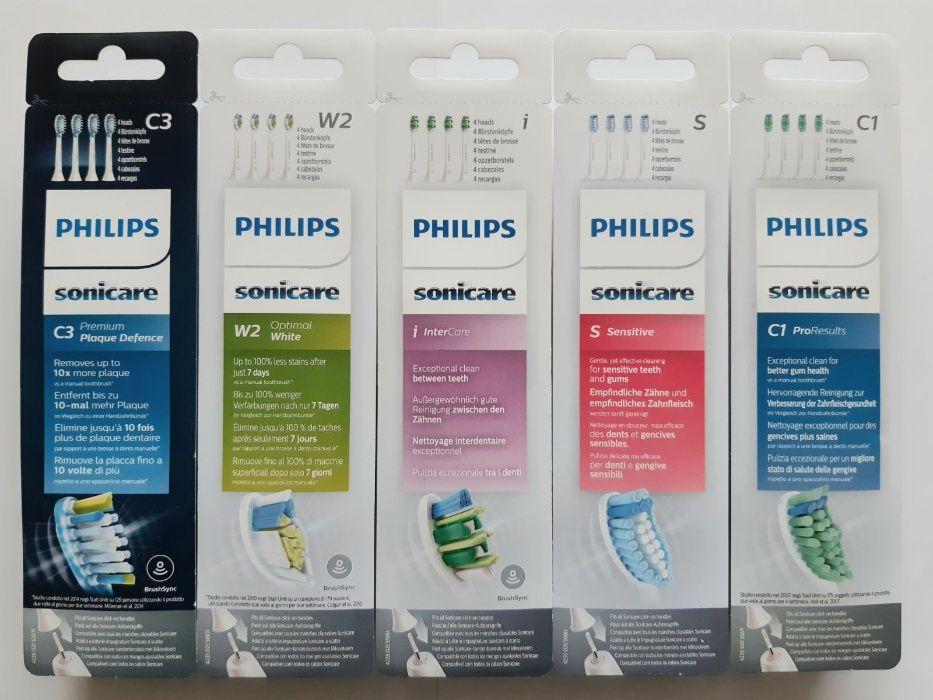 (Оригинални) Накрайници Philips Sonicare за ЗВУКОВА четка за зъби