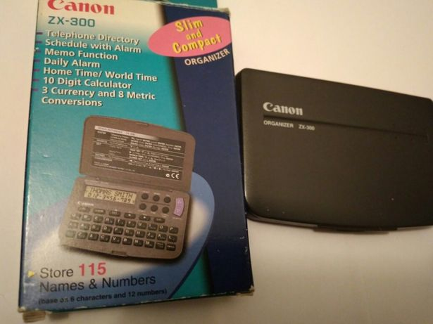 Calculator/agenda electronica CANON ZX 300 (organizer)