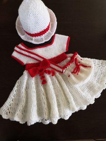 Плетена рокличка