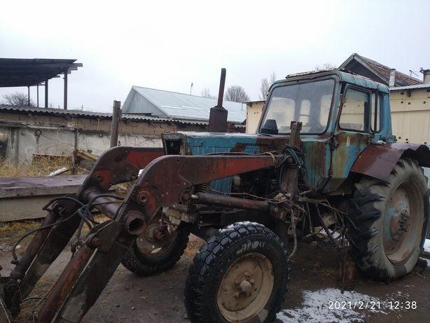 Трактор Мтз 80 кун погрузчик