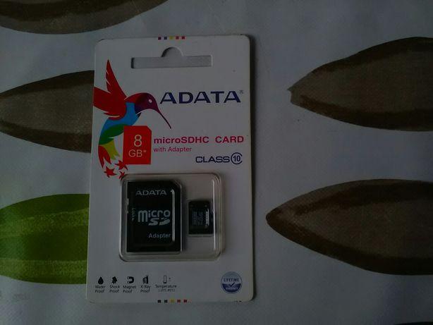 Micro SD cu 8 Giga