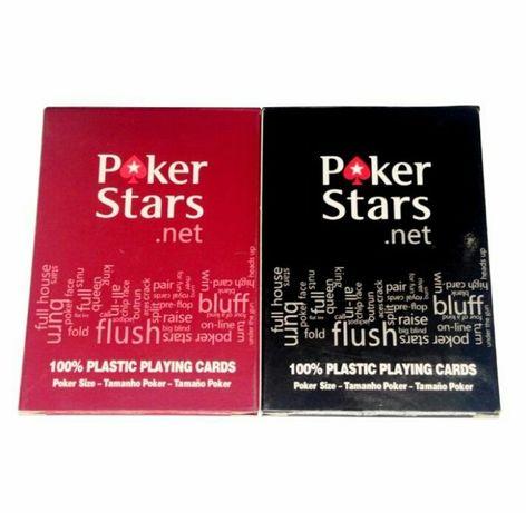 Продам карты пластиковые покерстарс PokerStars покер